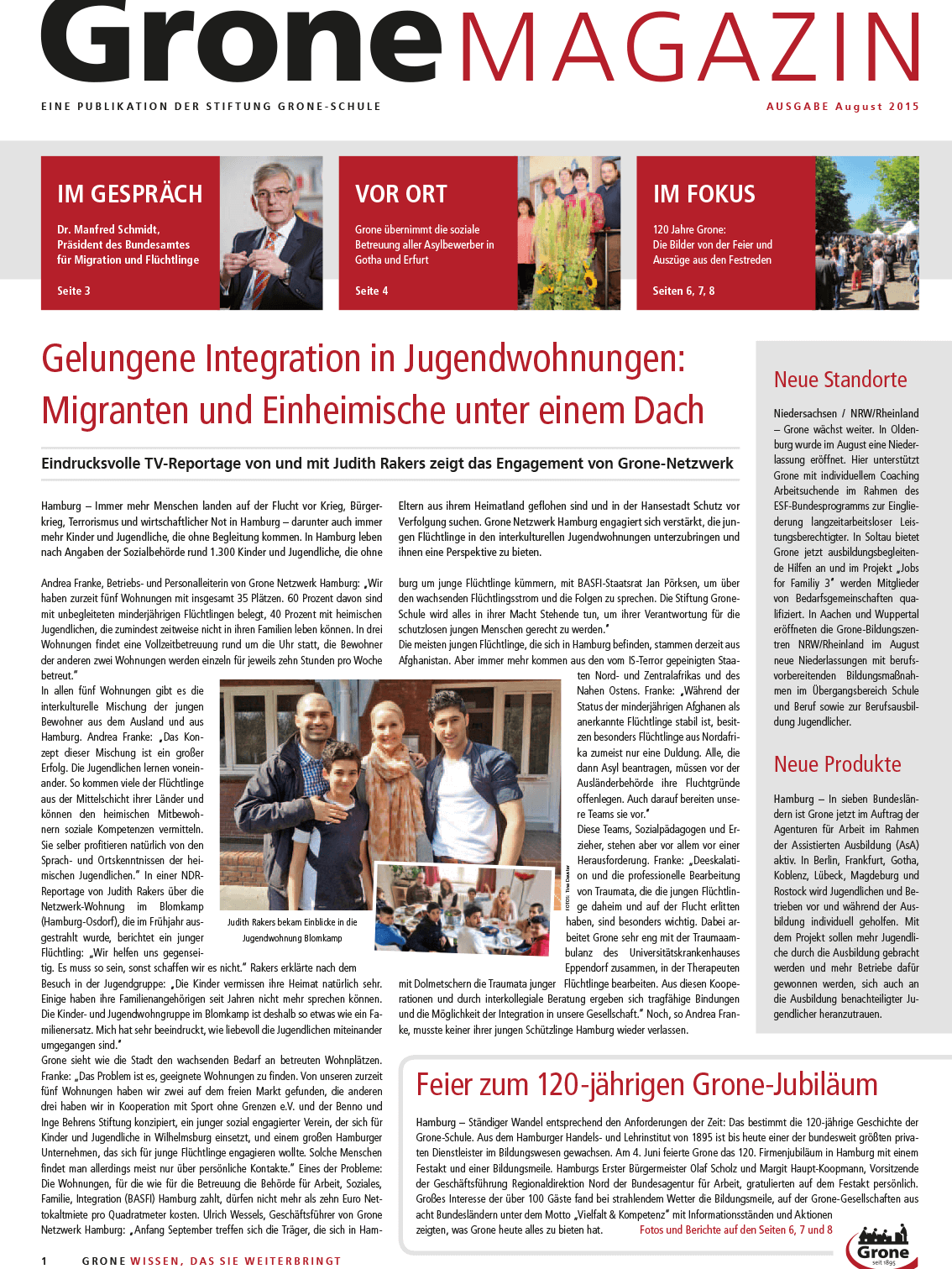 Grone Magazin September 2015